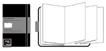 Moleskine notitieboekje Japans album classic pocket zwart