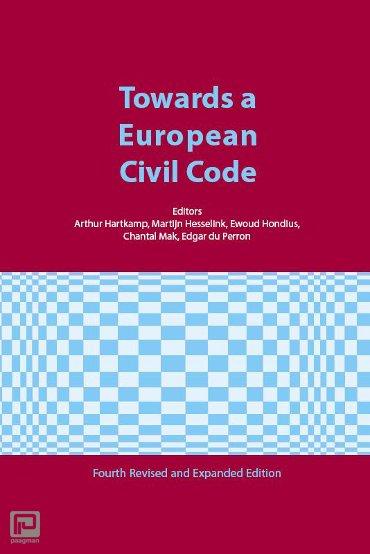 Towards a European Civl Code - Ars Aequi Cahiers