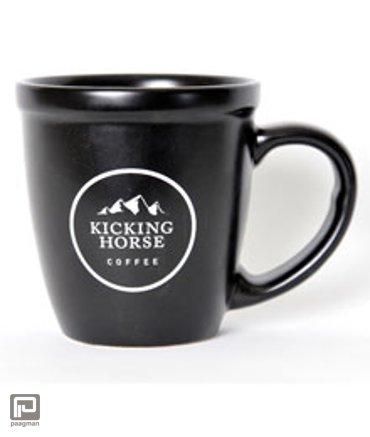 Kicking Horse Coffee beker zwart