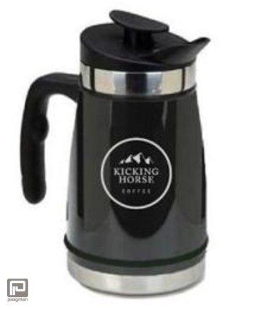 Kicking Horse Coffee Cafetière zwart