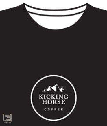 Kicking Horse Coffee T-shirt Heren/XL zwart