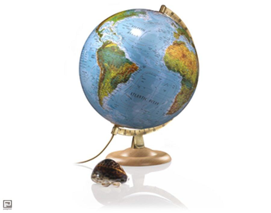 Atmosphere Globe Model, 30 cm Globe Verlicht Blauwe Oceaan ...
