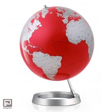 Atmosphere Globe Model Vision Red 30 cm Engelstalig