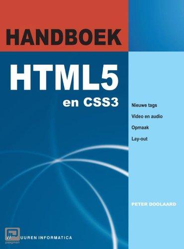 Handboek HTML 5 - Handboek