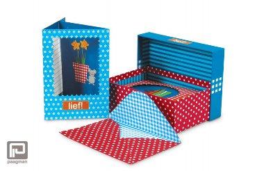 Lief! wenskaarten met enveloppen in doos Holland