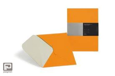 Moleskine documenthouder envelop folio voor A4 oranje