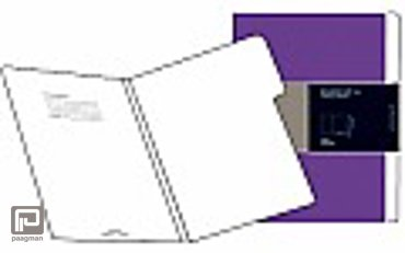 Moleskine documenthouder folio voor A4 paars