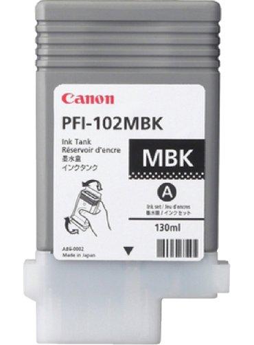 Inkcartridge Canon PFI-102 mat zwart