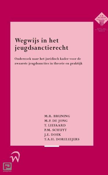 Wegwijs in het jeugdsanctierecht - Meijers-reeks