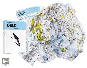 Crumpled City Maps Oslo