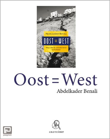 Oost = West (grote letter)
