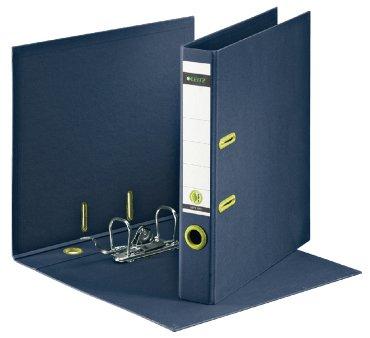 Ordner Leitz re:cycle A4 50mm karton donkerblauw