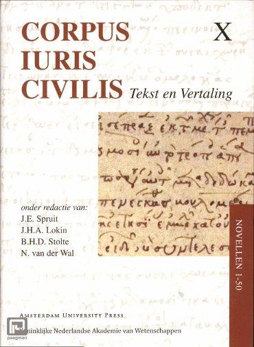 Novellen 1-50 - Corpus Iuris Civilis