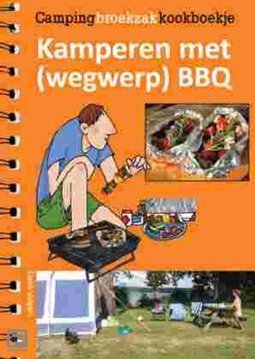 Kamperen met (wegwerp)BBQ - Campingbroekzakkookboekje