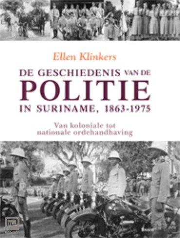 De geschiedenis van de politie in Suriname, 1863-1975