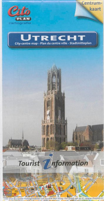 Citoplan centrumpkaart Utrecht - Citoplan