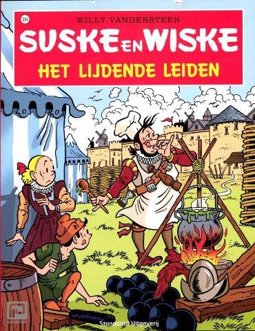 Het lijdende Leiden - Suske en Wiske