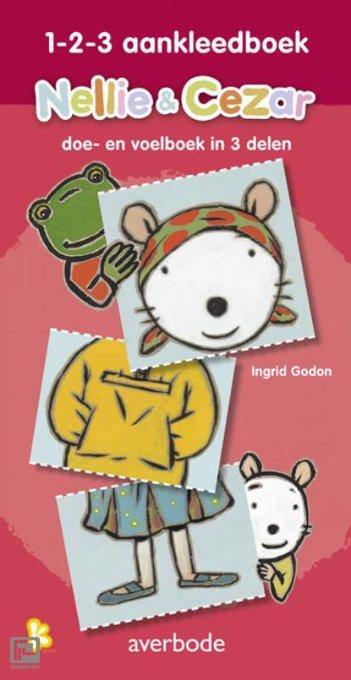 Nellie & Cezar 1-2-3 aankleedboek