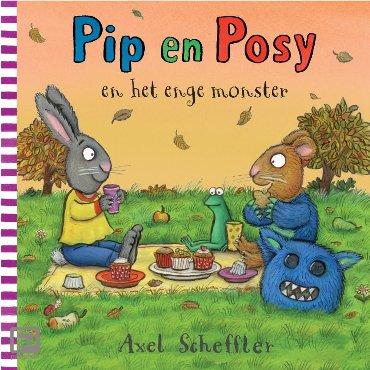 Pip en Posy en het enge monster - Pip en Posy