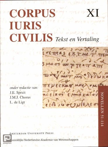 Corpus Iuris Civilis / Novellen 51 - 114 - Corpus Iuris Civilis