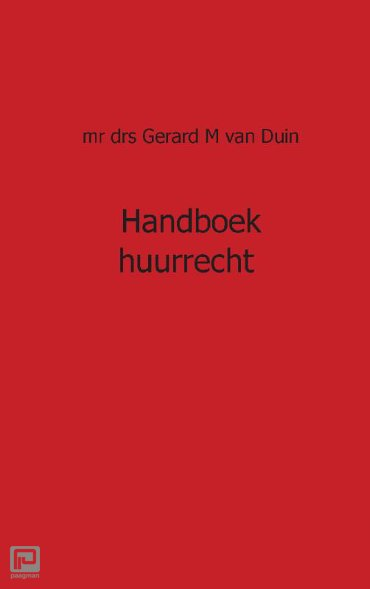Huurrecht - Juristnet handboeken praktijk