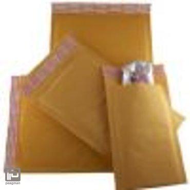 Jiffy foamkraft envelop 7, formaat 382 x 478 mm., doos à 125 stuks