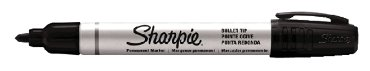 Viltstift Sharpie Pro rond zwart 1.5-3mm