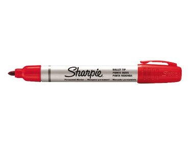 Viltstift Sharpie Pro rond rood 1.5-3mm