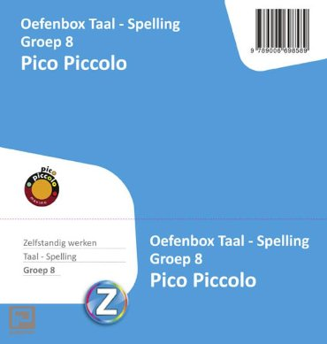 Pico piccolo / Taal-spelling groep 8 / Oefenbox