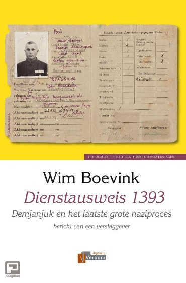 Dienstausweis 1393 - Verbum Holocaust Bibliotheek