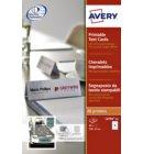 Tafelnaambord Avery L4794-10 120x45mm wit 40stuks