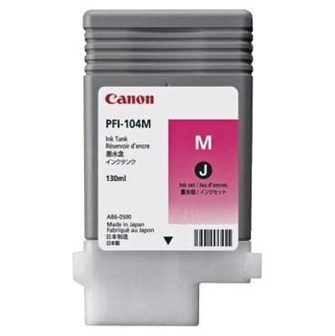 Inkcartridge Canon PFI-104 rood