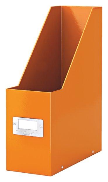 Tijdschriftcassette Leitz WOW Click & Store oranje