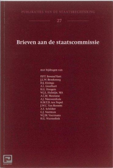 Brieven aan de staatscommissie - Publicaties van de staatsrechtkring