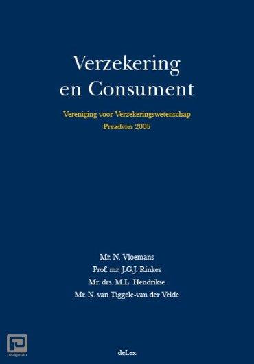Vereniging voor Verzekeringswetenschap / Verzekering en consument - Vereniging voor Verzekeringswetenschap