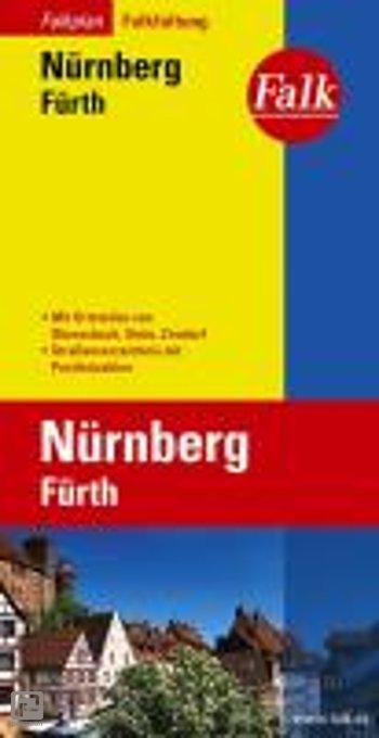 Falk Stadtplan Falkfaltung Nürnberg / Fürth 1 : 23 000