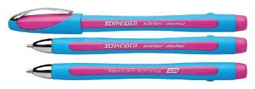 Balpen Schneider Slider Memo roze extra breed