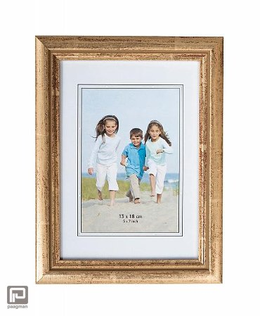 Henzo fotolijst artos, formaat 10 x 15 cm., kleur goud