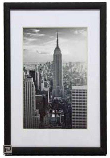 Henzo fotolijst manhattan, formaat 50 x 70 cm., kleur zwart