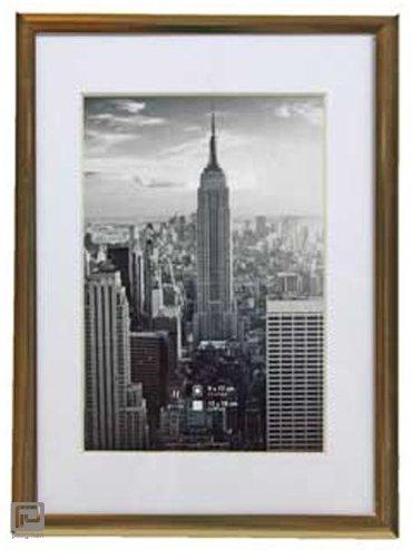 Henzo fotolijst manhattan, formaat 13 x 18 cm., kleur goud