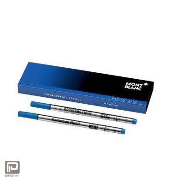 Montblanc vulling voor de rollerball Classique, kleur Pacific Blue (schrijfdikte medium)