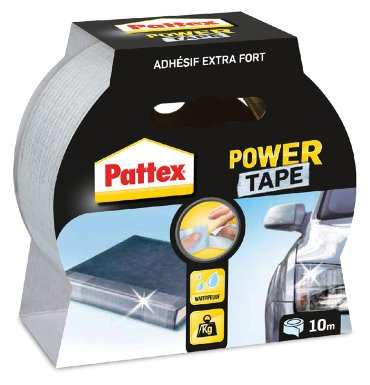 Plakband Pattex Power Tape 50mmx10m transparant