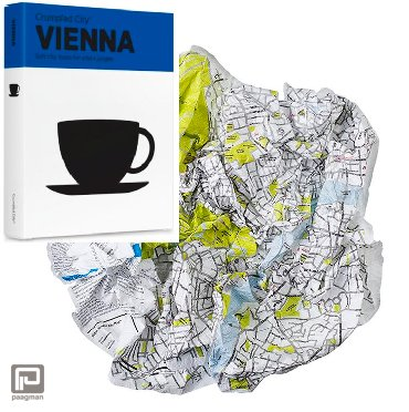 Crumpled City Maps Wenen
