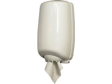 Dispenser PrimeSource Mini poetsrol centerfeed mini wit