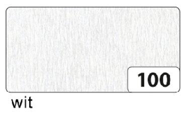 Crepepapier Folia 250x50cm nr100 wit