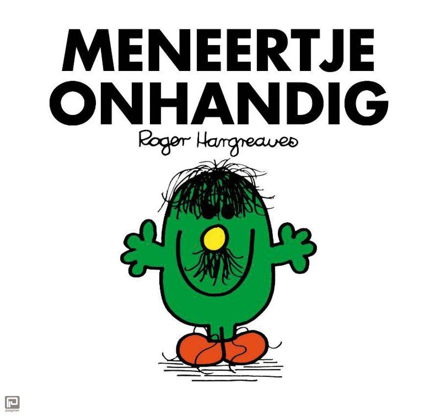 Wonderbaar Meneertje Onhandig set 4 ex. , Roger Hargreaves   ISBN: 9789000324460 ZQ-76