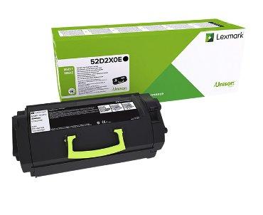 Tonercartridge Lexmark 52D2X00 prebate zwart HC
