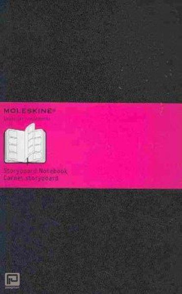 Moleskine notitieboekje storyboard classic L zwart