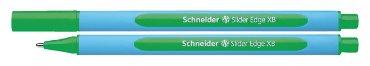 Balpen Schneider Slider Edge groen extra breed
