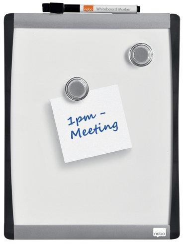 Whiteboard Rexel 28x21.5cm gewelfd